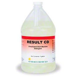 Sunburst Result CD Warewash Detergent - Gal.