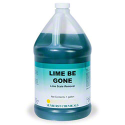 Sunburst Lime Be Gone Lime Scale Remover - Gal.