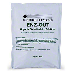 Sunburst ENZ-OUT Organic Stain Reclaim Additive -1 lb. Pouch