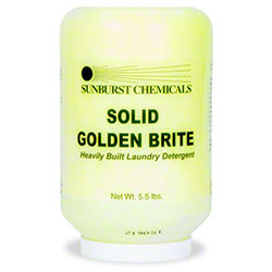 Sunburst Solid Golden Brite Built Detergent - 5.5 lb.