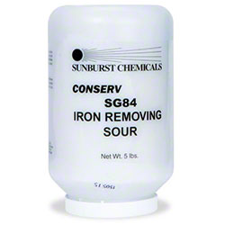 Sunburst Conserv SG84 Iron Removing Sour - 5 lbs.