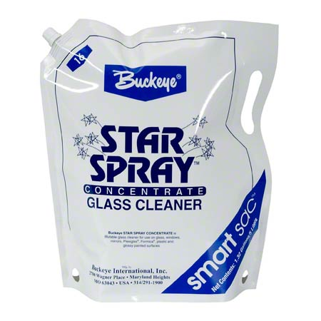 Buckeye® Star Spray™ Concentrated Glass Clnr-Smart Sac