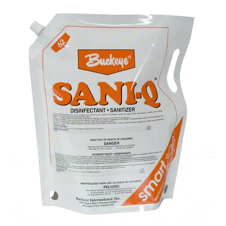 Buckeye® Sani-Q™ Sanitizing Solution - Smart Sac