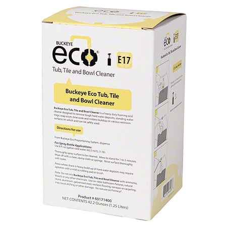 Buckeye® Eco® E17 Tub, Tile & Bowl Cleaner - 1.25 L