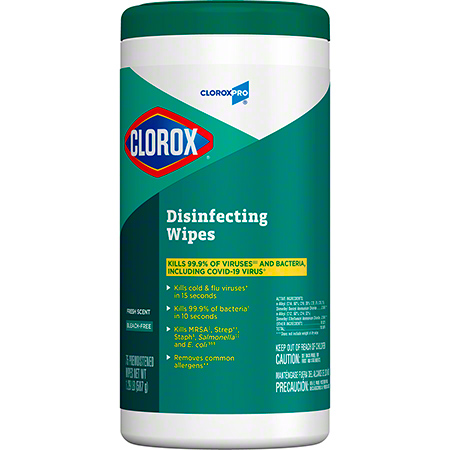 Clorox® Disinfecting Wipes - 75 ct., Fresh Scent