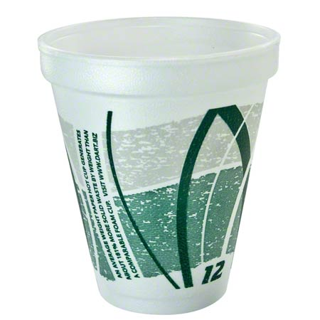 Dart® Impulse® Foam Cups - 12 oz.
