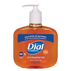Dial® Gold Antimicrobial Liquid Hand Soap - 16 oz. Pump