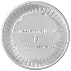 International Paper Flat/Hot Vented For 12 oz. Food Cont.