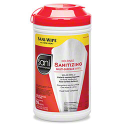 Sani Professional® No-Rinse Sanitizing Multi-Surface Wipe - 95 ct.