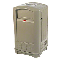 Rubbermaid® Plaza™ Container - 35 Gal., Beige