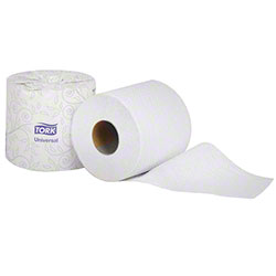 Tork® Universal Quality 1 Ply Roll Bath Tissue - White