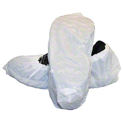 Safety Zone Polyethylene Shoe Covers w/Textured Tread - XL