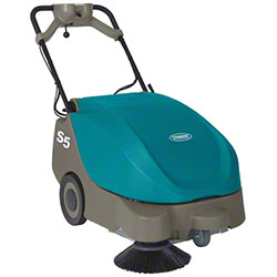 "Tennant S5 Walk-Behind Sweeper - 24"", 50AH"