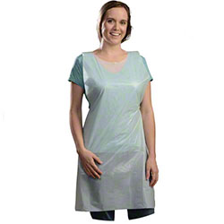 Ambitex® Poly Apron - 28 x 46, Regular Wt.