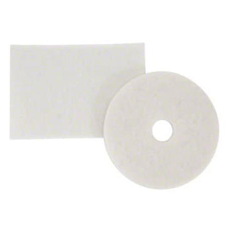 """3M™ 4100 White Super Polish Pad - 19"""""""