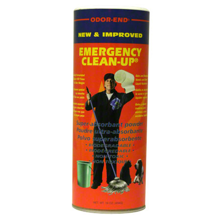 CDC Odor-End Emergency Clean-Up Powder -1 lb., Spring Green
