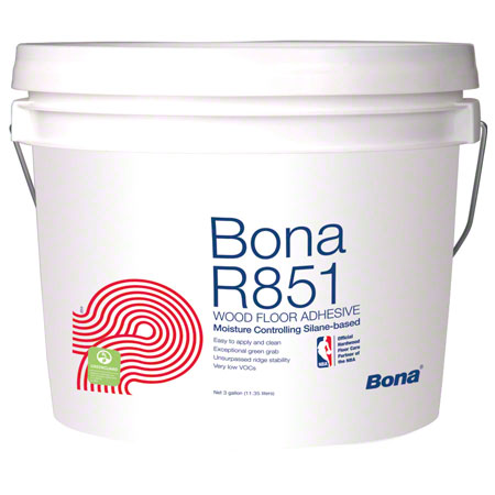 Bona® R851 Adhesive For Wood Floors - 3 Gal.