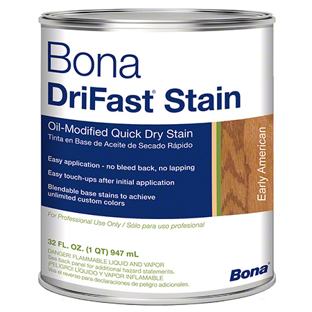 Bona® DriFast® Stain - Qt., Early American