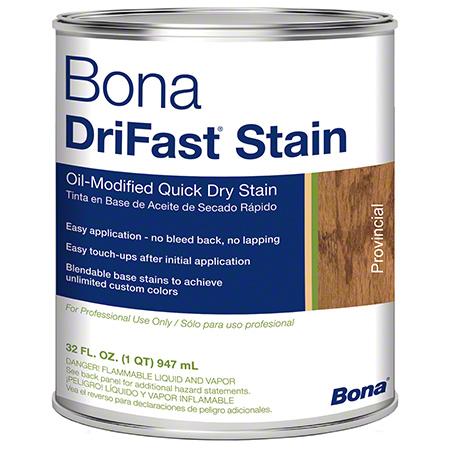 Bona® DriFast® Stain - Qt., Provincial