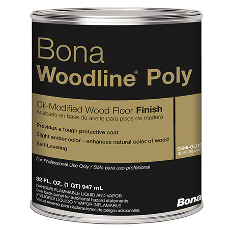 Bona® Woodline® Poly - Qt., Semi-Gloss