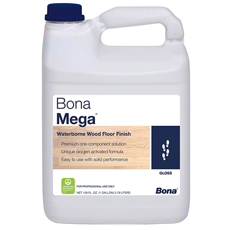 Bona® Mega® Wood Floor Finish - Gal., Gloss