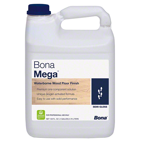 Bona® Mega® Wood Floor Finish - Gal., Semi-Gloss