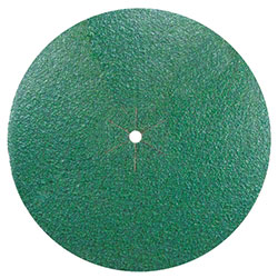 "Bona® Green Ceramic 7"" x 15/16"" Siafast Velcro Edger Discs"