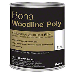 Bona® Woodline® Poly - Qt., Satin