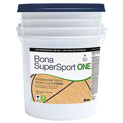 Bona® SuperSport One® Floor Finish - 5 Gal., Gloss