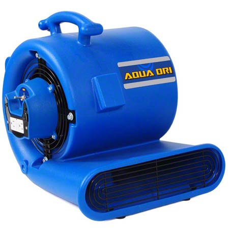 "EDIC Aqua Dri Portable Air Mover/Carpet Dryer - 9 1/2"" Fan"