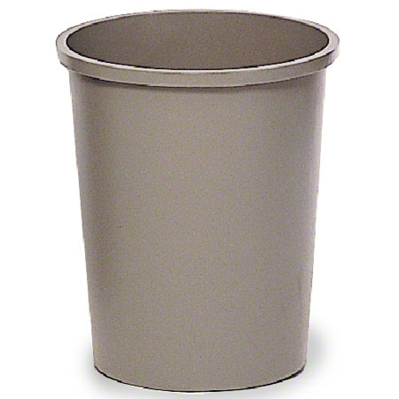 Rubbermaid® Untouchable® Round Container - 44 3/8 Qt.