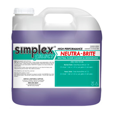 Simplex® Select Neutra-Brite Floor Cleaner & Deodorizer