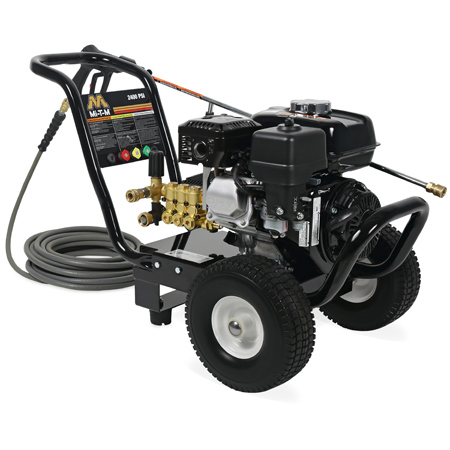 JP24033MHB Cold Water Gasoline Direct Drive Pressure Washer