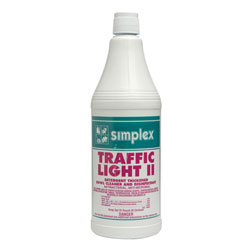 Simplex® Traffic Light II Disinfectant & Cleaner - Qt.