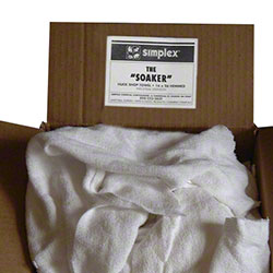 Simplex® The Soaker White Receiving Blanket - 50 lb.