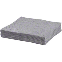 "Spilkleen Blended Poly Universal Sorbent Pad - 16"" x 18"""
