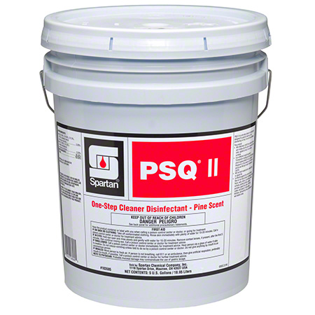 Spartan PSQ® ll Pine-Scented Disinfectant - 5 Gal.