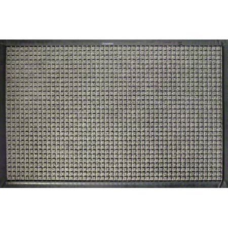 M + A Matting Waterhog™ Classic - Medium Grey, 4x6