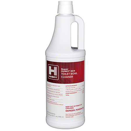 Husky® 303 Toilet Bowl Cleaner 23% HCI - Qt.