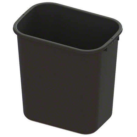 Impact® Value-Plus™ 28 Qt. Wastebasket - Black