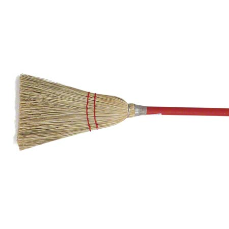 "Malish ""Toy"" Lobby Corn Broom - 38"""