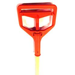 LaFitte Fiberglass Handle w/Plastic C-8 Janitor Head