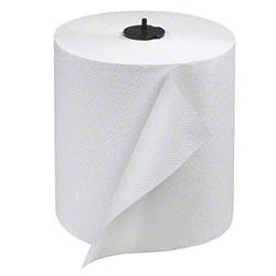 "Tork® Advanced Matic® 1 Ply White Hand Towel Roll - 8"" x 700'"
