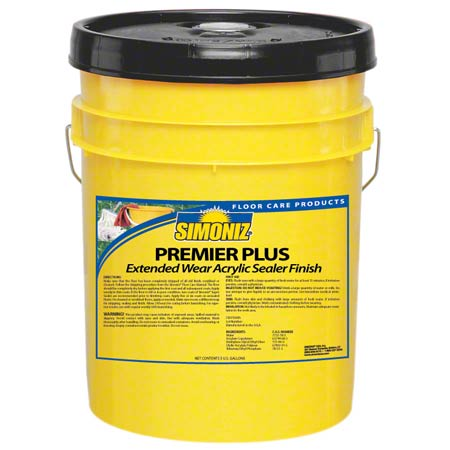 Simoniz® Premier Plus Floor Finish - 5 Gal.