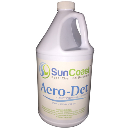 SunCoast Aerodet Degreaser - Gal  | SunCoast Paper & Chemical