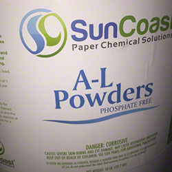 SunCoast AL Laundry Powder - 50# Drum