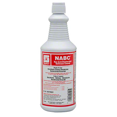 Spartan NABC® Non-Acid Disinfectant Bathroom Cleaner - Qt.