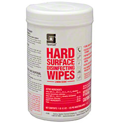 Spartan Hard Surface Disinfecting Wipe - Lemon Scent
