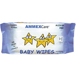 Ammex AmmexCare Baby Wipe Refill - 80 ct.