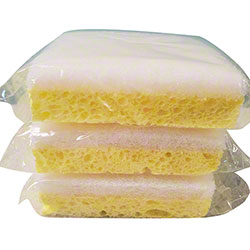 Yellow & White Sponge